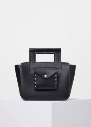 Celine Black Small Square Replica Bag