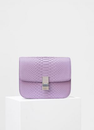 Celine Petal Python Medium Classic Box Replica Bag