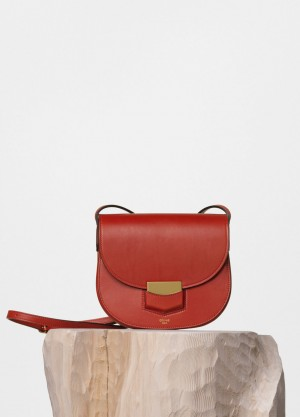 Celine Ruby Supersoft Calfskin Small Trotteur Shoulder Replica Bag