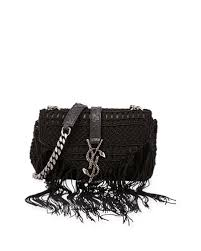 SaintLaurent-Classic-Baby-Monogram-Crochet-Shoulder-Bag3