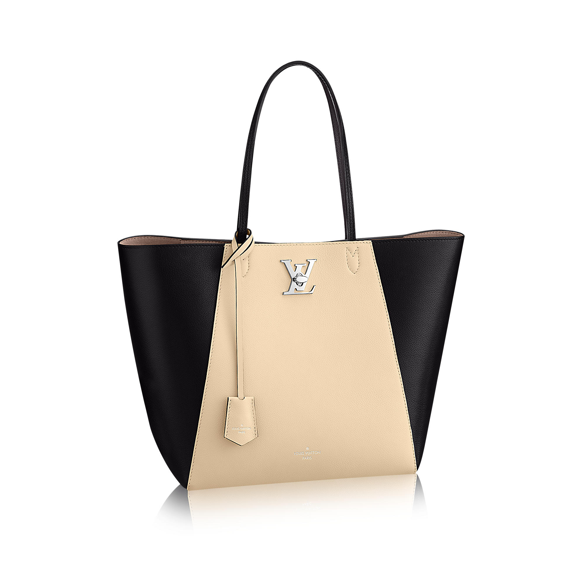 first look the fashionable louis vuitton lockme cabas