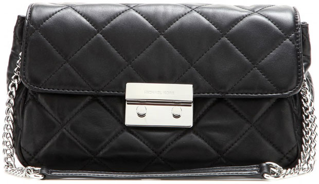 5fd76740e04b Micheal Micheal Kors Quilted Shoulder Bag Genuine Leather Replica ...